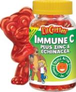 Kẹo gôm L'il Critters Immune C Plus Zinc & Echinacea Gummy Bears