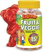 Kẹo gôm L'il Critters Fruit & Veggie Gummy Bears