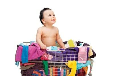 giữ gìn quần áo trẻ