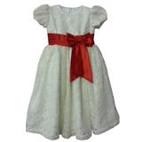 Đầm ren mềm mại kết nơ đỏ Gymboree - VNXK  Size:  12 - 16 kg