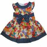 Đầm vải cotton tay cánh tiên hoa Thái  Size:  8 - 25 kg