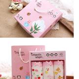 Gift Box bé gái Hàn Quốc, vải bông nhập khẩu từ Mỹ, có thành phần chính SUPIM-Đó là một sợi dài với đặc tính tốt của bông thiên nhiên- bông tốt nhất thế giới, sợi vải dẻo dai, mềm mại và sáng bóng, bông này chỉ phát triển tại Hoa Kỳ và Peru.  Size:  S(2-4 tuổi), M (4-6 tuổi), L(6-8t) , XL(8-10t)