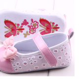 Giày tập đi nơ bóng   Size: 11-12-13 cm