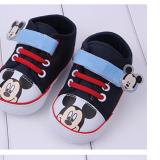 Giày tập đi quai dán mickey  Size:   11-12-13 cm