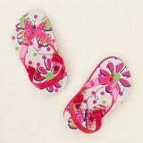 Dép kẹp quai hậu bướm hoa hồng Children Place - Hàng nhập Mỹ  Size:  15 - 17 cm (18 tháng - 3 tuổi)