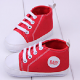 Giày tập đi thể thao cổ cao baby  Size: 13-13,5cm