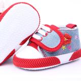 Giày tập đi dáng thể thao thêu bướm  Size:  13 cm