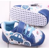 Giày tập đi dáng thể thao in xe ô tô  Size:  12 cm