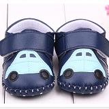 Giày tập đi handmade bằng da ô tô  Size:  13 cm