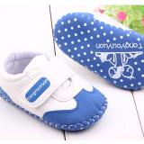 Giày tập đi handmade bằng da mờ(da lộn)  Size:  11-12-13 cm
