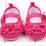 Giày tập đi nhún bèo 3 tầng  Size:  11-12-13 cm