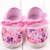 Giày tập đi hoa kết nơ  Size:  11-12-13 cm