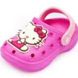 Giày nhựa dẻo kitty  Size:  12,5-15,5 cm