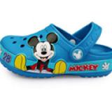 Giày nhựa mickey có đèn chớp  Size: 18cm