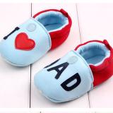 Giày tập đi I love Dad  Size:  11-12-13 cm