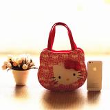 túi xách thời trang Hàn quốc Hello Kitty  Size:  20 x 16 x 7.5cm