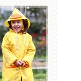 Áo mưa Linda xuất Nhật, Chất liệu PVC tốt  Size: bé cao 90-130cm(Chiều dài 65cm, tay áo 55cm,  rộng 50cm)