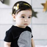set 2 băng đô ngôi sao+ Mickey vàng phong  cách Hàn Quốc