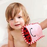 Khăn tắm bọ hồng hiệu Skip Hop  Size:   26 x 15 cm