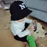 nón vành NY  Size:  9 tháng-3 tuổi