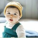 nón len vương miện   Size:  6 tháng-2 tuổi