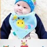 set nón thun + khăn ( còn màu vàng, xanh, cam)  Size:  3 tháng- 18tháng
