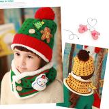 set nón+ khăn len Noel  Size:  Trên 1 tuổi
