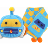 Set nón+ khăn rôbot  Size:  Trên 4 tháng