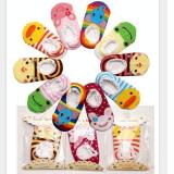 vớ xuồng Nhật, chất liệu: Cotton, co giãn tốt. Đế có lớp chống trơn trượt  Size:  9-15cm (từ 6-24 tháng tuổi)
