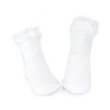vớ nhún bèo  Hàn Quốc, chất liệu: Cotton, co giãn tốt. Đế có lớp chống trơn trượt  Size:  S(0-21t), M (2-4)