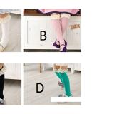 vớ ren cổ cao Hàn Quốc, chất liệu: Cotton, co giãn tốt. Đế có lớp chống trơn trượt  Size:  14-19cm(3-8 tuổi)