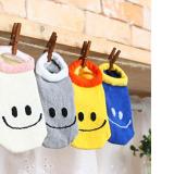 vớ cotton ngắn cổ Hàn quốc mặt cười  Size:  sơ sinh-9 tháng