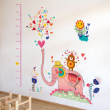 thước đo voi hồng  Size:  60cm x 90cm ( bao bì)