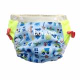 Tã hè-Lớp vải bên ngoài với nhiều họa tiết đa dạng, xinh xắn và bằng chất liệu PUL (polyurethan laminate) làm cho da bé dễ thở, được dùng nhiều trong lĩnh vực y khoa nhờ có độ bền cao.  Size:  M (5 - 16kg), L(12-24 kg)
