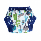 Tã bo-Thiết kế bo viền đẹp, nhiều màu sắc nổi bật, tạo dáng quần short năng động, mang lại cảm giác thoải mái cho người mặc.  Size:  M (5 - 16kg), L(12-24 kg)