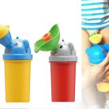 bình tiểu mini di động, tiện lợi khi cho bé đi chơi trên xe, máy bay,tàu