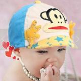 mũ lưỡi trai vành mềm khỉ con  Size:  1-12 tháng