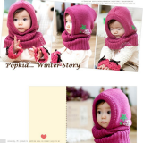 nón len liền cổ ngôi sao, phong cách Hàn quốc  Size:  trên 6 tháng