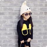 Mũ len (nón len) thuật sĩ có chóp nhon - style Hàn Quốc    Size:  30-50cm    (8 tháng-5 tuổi)