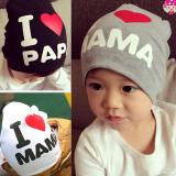Mũ thun I love Mama, Papa