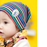 nón thun sọc nhiều màu  Size:  3 tháng- 2 tuổi
