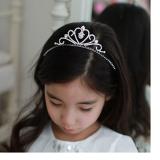 vương miện công chúa số 5-Hàng Handmade tinh xảo, với nguyên phụ liệu nhập từ HQ,Hàng xuất HQ.  Size:  trên 1 tuổi
