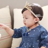 Băng đô vương miện vàng mềm Hapyy Prince Hàn Quốc
