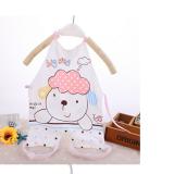 yếm tạp dề giữ ấm phần ngực và bụng cho bé , không lo  các bé bị tung áo hở bụng khi ngủ hoặc không chịu đắp chăn  Size:  50*70cm, 0-12 tháng