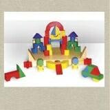 Bộ xếp hình XD 51 chi tiết sơn màu Gồm 51 chi tiết là các khối kỹ thuật bằng gỗ tự nhiên đã qua xử lý CN, Sơn màu chất lượng cao. Có thể  lắp ráp thành nhiều loại xe, pháo và các xe chuyên dụng khác. Giúp trẻ nhận biết hình khối, màu sắc. Kích tích tư duy sáng tạo và đôi bàn tay khéo léo của trẻ. Chứng nhận phù hợp Quy chuẩn Quốc gia an toàn đồ chơi trẻ em.  Size: 34 x 30 x 3,5 cm