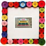 Đàn Xylophone 7 thanh mặt hình con búp bê Bằng gỗ sơn màu  Size: 32 x 24 x 4 cm.