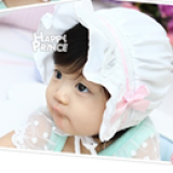 mũ happy prince trắng  Size:  2 tháng- 12tháng
