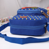 Túi xách chấm bi kết gấu  Size:  20cm x15cmx7cm