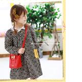 túi xách đính nơ hiệu LEMONKID, phong cách Sweet Lady Hàn Quốc, chất liệu PU da  Size:  mini
