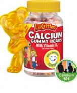 Kẹo gôm L'il Critters Calcium Gummy Bears